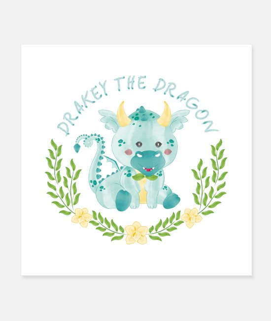 Soap Bubbles Posters - the Dragon - Posters white