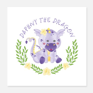 Dragon Boat Daphny the Dragon - Poster