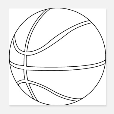 Basketball Korb Basketball - Poster