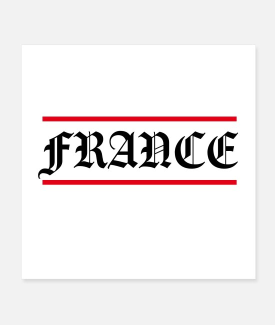 Rap Posters - France Rap Shirt France Hip Hop Gift - Posters white