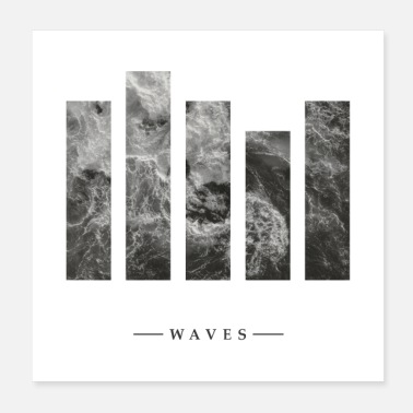 Waves waves - Poster