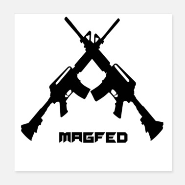 Softair Paintball MagFed - Poster