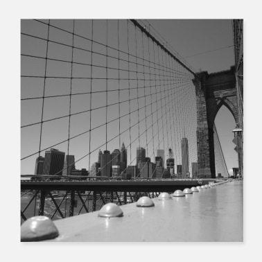 Brooklyn bridge - Poster