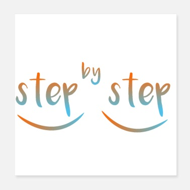 Steps step by step - Poster