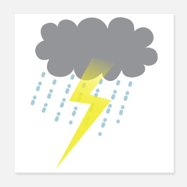 Weather Weather storm cloud - Poster