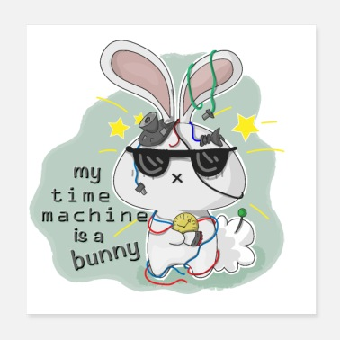 Machine Bunny Machine - Poster