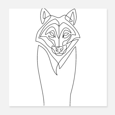 Wolf wolf - Poster