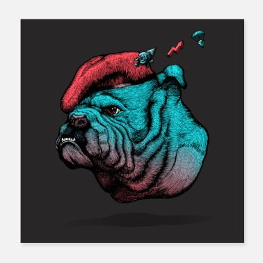 Bulldog British Bulldog - Poster