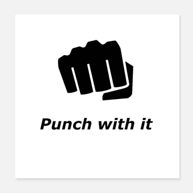 punch with it - Poster