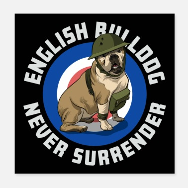 Bulldog OEB English Bulldog - Poster