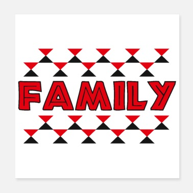 Rugby Maori Family Symbol Polynesia Tribal Tattoo Gift - Poster