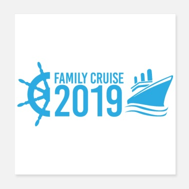 Cruise Family Cruise 2019 cruise vacation gift idea - Poster