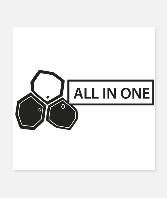 Nature Posters - Cell: All in One - Posters white