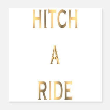 Humour Hitch A Ride! - Poster