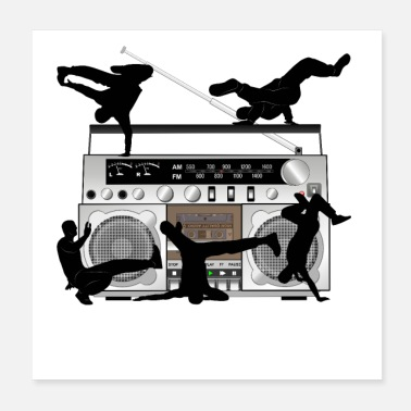Radio BREAKDANCE & RADIO - Poster
