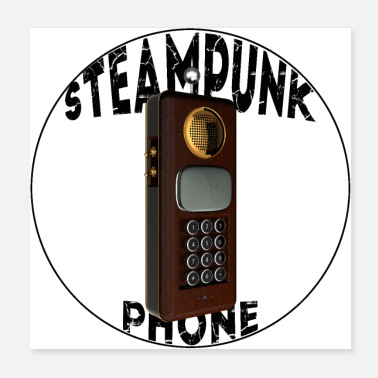 Phone steampunk phone - Poster