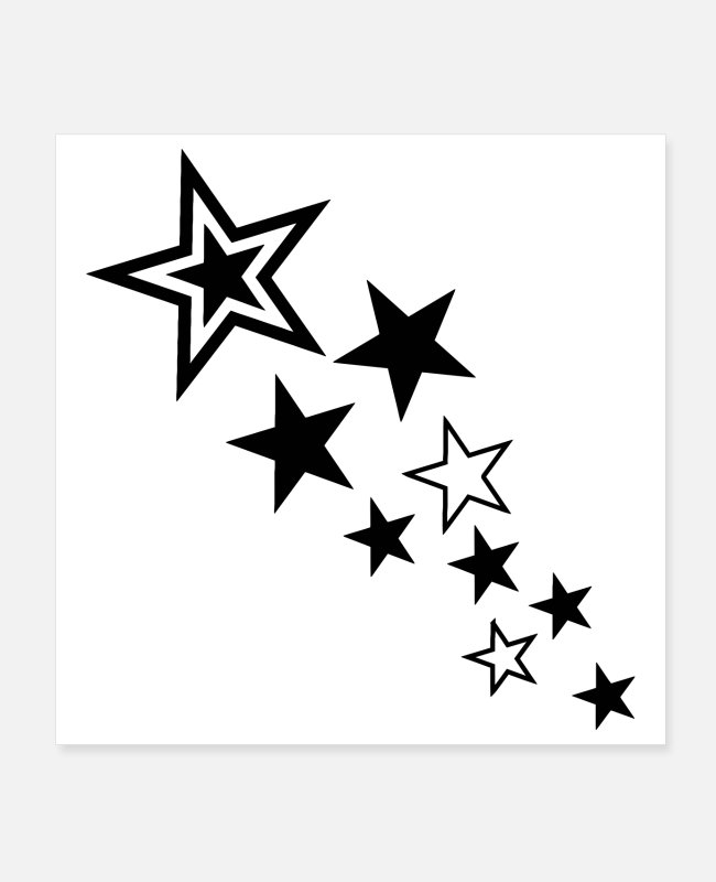 Supernova Posters - MILKY WAY posters and stickers - Posters white