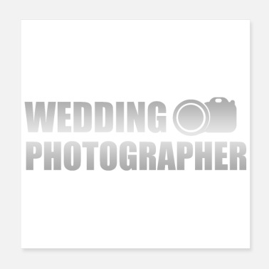 Wedding Day Wedding anniversary Wedding Photograph gift idea - Poster