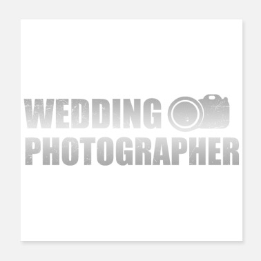 Wedding Wedding anniversary Wedding Photograph gift idea - Poster