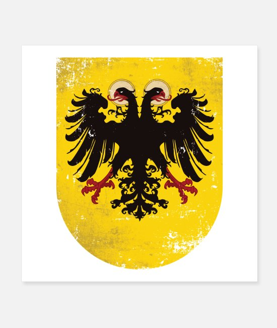 Church Posters - Holy Roman Empire of German Nations coat of arms - Posters white