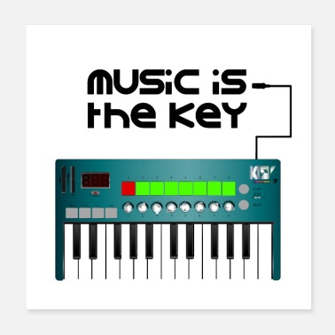 Band Music is the key - Poster