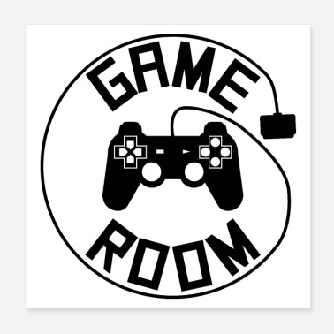 Gamer Game room poster - Poster