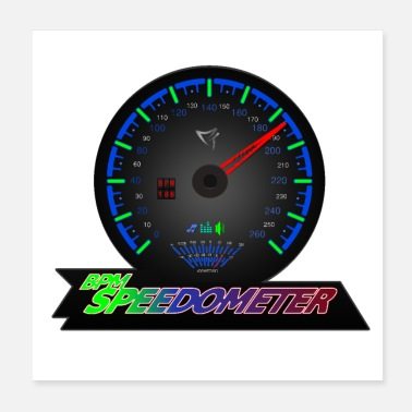 Mp3 BPM SPEEDOMETER - Juliste