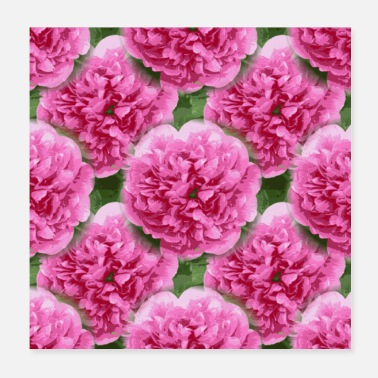 Graphics Flowers pattern graphic - Poster