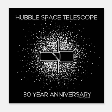 Since Hubble Telescope 30 Year Anniversary, abastract st - Poster