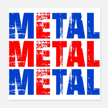 Heavy METAL ICELAND - Poster