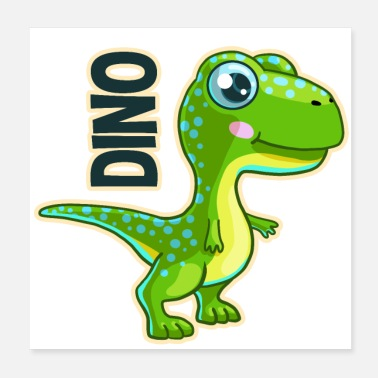 Unge Baby dino - Poster