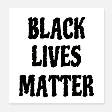 Occupy black lives matter - Poster