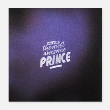 Minneapolis The Most Awesome Prince in Purple - Poster
