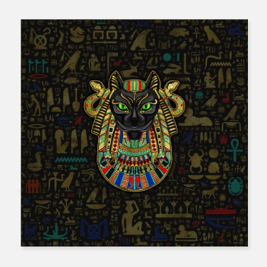 Egypt Bastet Egyptian Goddess - Poster