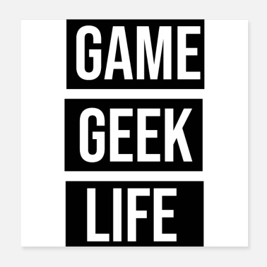 Internet Peli Geek Life - Juliste