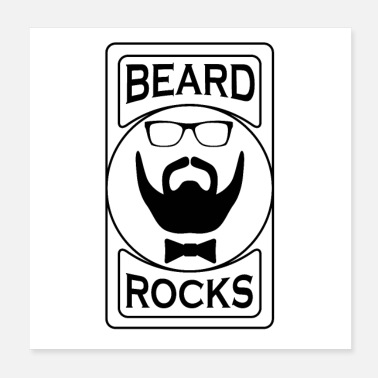 Barbe Barbe Rocks - Poster