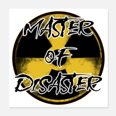 Radioaktiv Advarsel: Master of Disaster - Poster