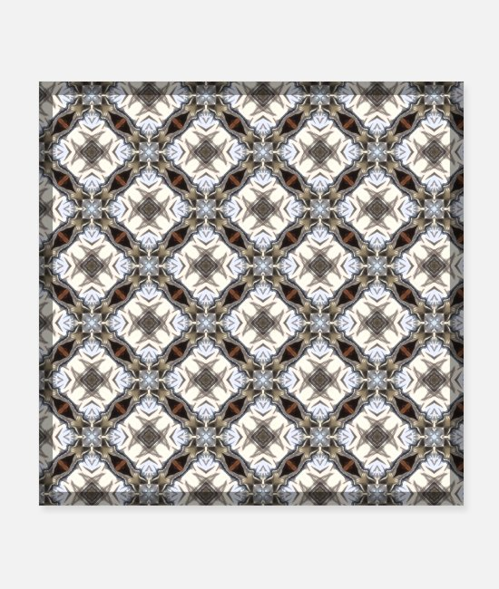 Pattern Posters - Pattern | Crusader - Posters white