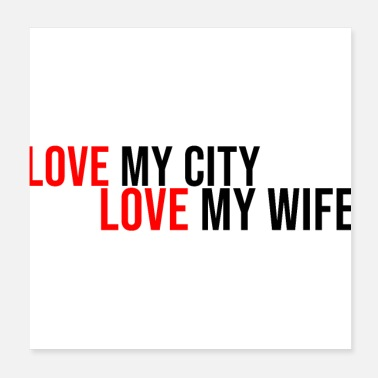 My City love my city of my wife couple love relationship - Poster