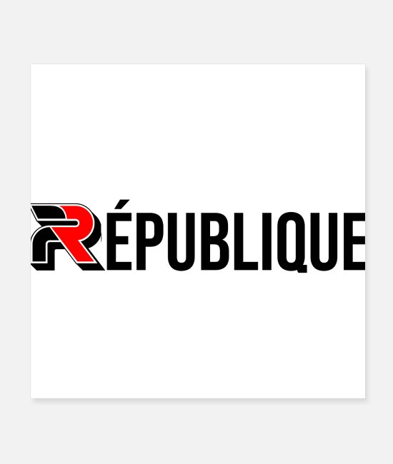 French Republic Posters - French Republic Europe France Paris flag - Posters white