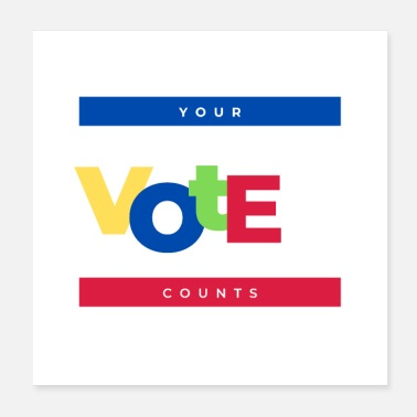 Republicans Your Vote Counts - Poster