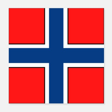 Norway LOGO Norway - Poster