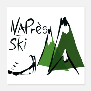 Forty Nap-res ski - Après-ski for the over forties - Poster