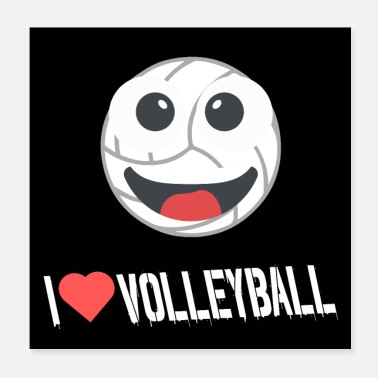 I Love Volleyball i love volleyball - Poster