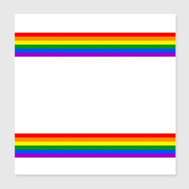 Communism Anal intercourse instead of capital LGBT Gay Pride - Poster 20x20 cm