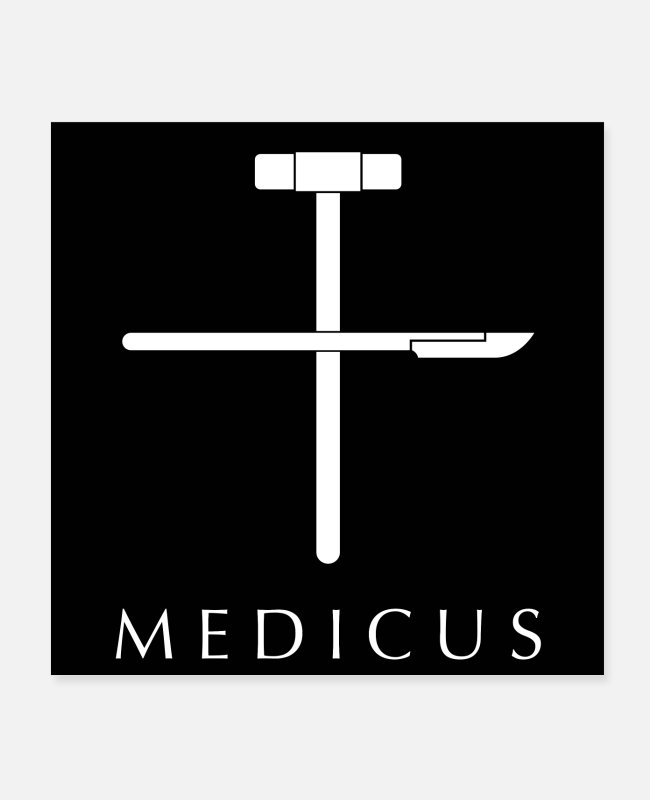 Medicine Posters - Medicus - Posters white