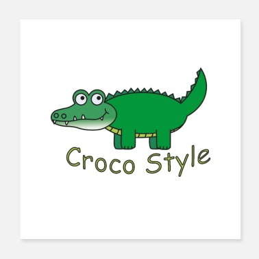 Style Croco Style - Juliste