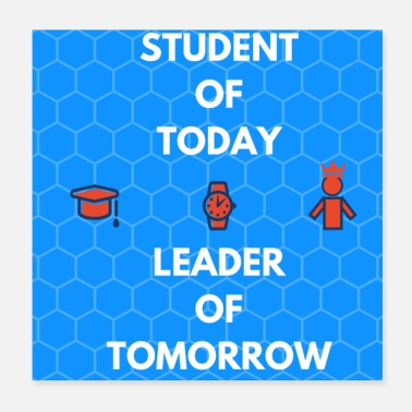 Student STUDENT OF TODAY - Poster