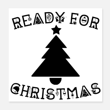 Nicholas READY FOR CHRISTMAS (poster) - Poster 20x20 cm