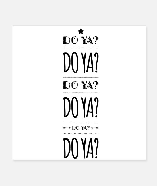 Quote Posters - Do it! - Posters white